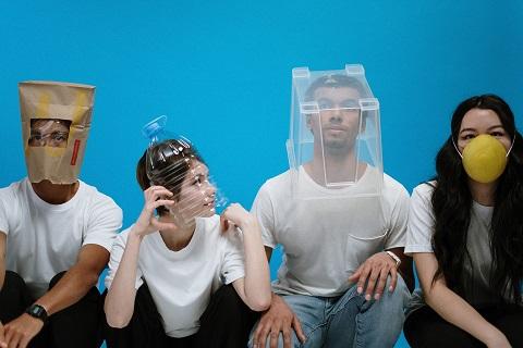 Digital Togetherness – Social Distancing Made Easy - DIY Masks